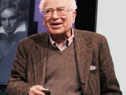 Murray Gell-Mann, en una imagen de 2007.