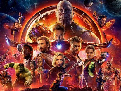 Los Vengadores: Infinity War.