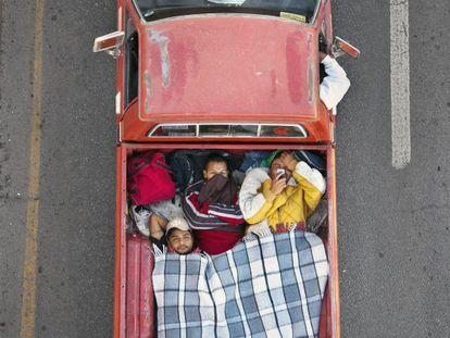 Foto de la serie 'Carpoolers'.