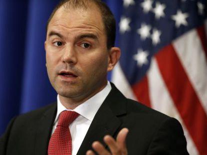 El viceasesor de Seguridad Nacional de EEUU, Ben Rhodes