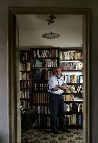Ryszard Kapuscinski, en su casa de Varsovia.