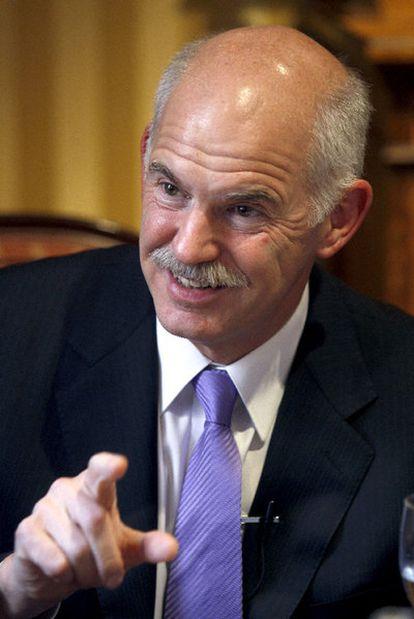 El primer ministro griego, Yorgos Papandreu.
