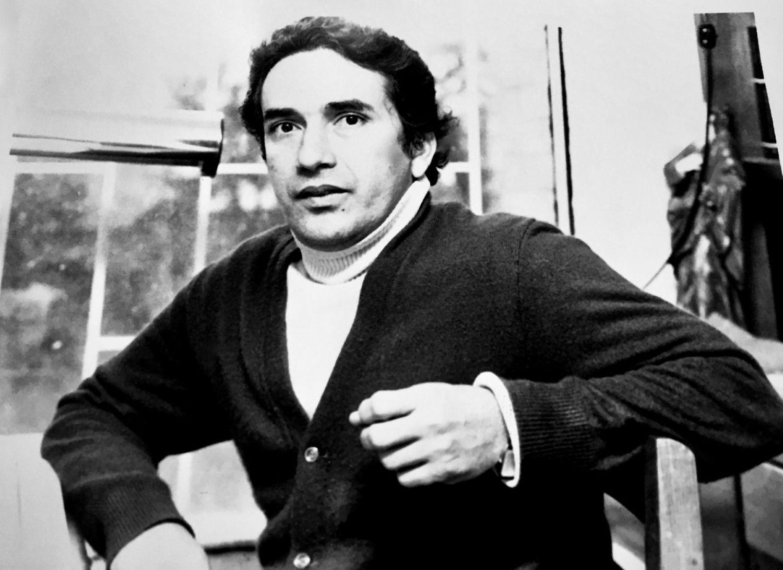 El periodista Eligio García Márquez.