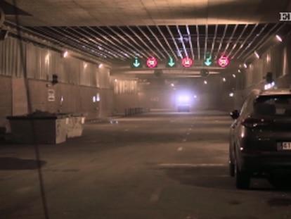 Tratamiento de choque en el túnel de Pío XII de Madrid