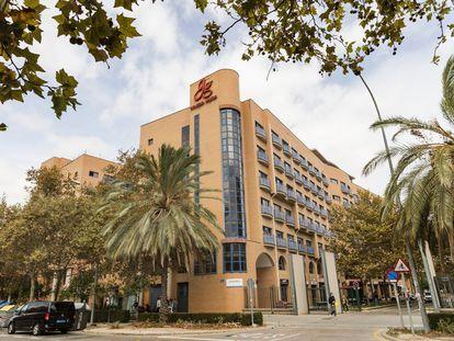Residencia Galileo Galilei, en Valencia.