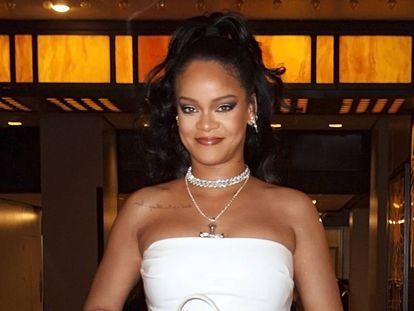 Rihanna en Nueva York a mediados de octubre.