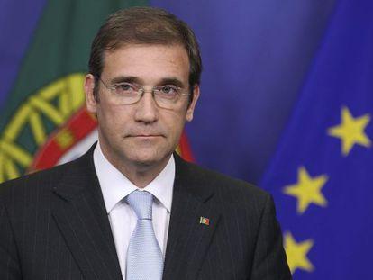 El primer ministro portugués, Pedro Passos Coelho