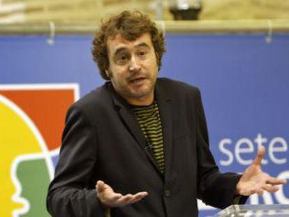 El director general de Política Lingüística, Rubén Trenzano, en una imagen de archivo.