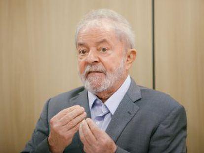 Adelanto de la entrevista de EL PAÍS y  Folha de S. Paulo  al expresidente de Brasil Lula da Silva, la primera desde su entrada en prisión