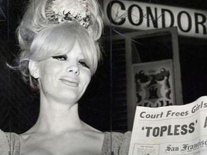 Carol Doda, en el club Condor de San Francisco, en 1965.