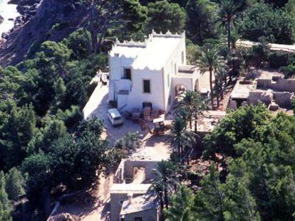 La casa de Michael Douglas en Mallorca.