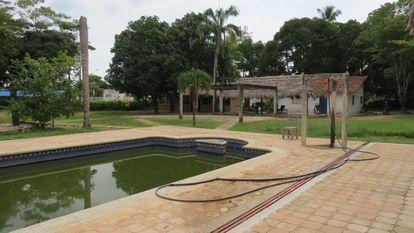 Hacienda Las Vegas, una propiedad de Guillermo Acevedo Giraldo en Buenavista, Colombia, embargada por las autoridades de ese país tras la investigación que sugiere que es un narcotraficante escondido en Madrid, España.