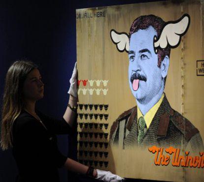 'The Uninvited' del artista británico D* Face.