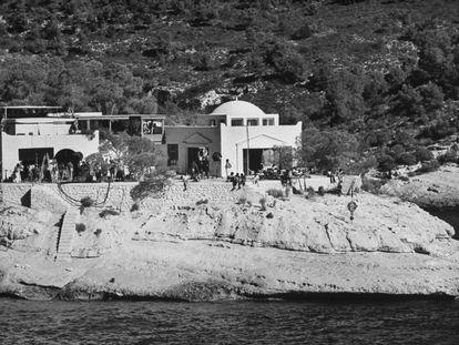 La casa utilizada en el rodaje de 'El Mago'.