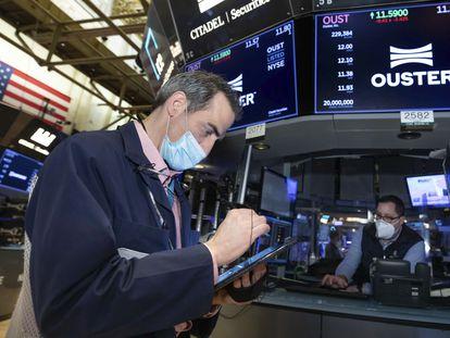 Operadores en la Bolsa de Nueva York el pasado 12 de marzo.