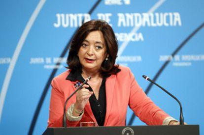 Mar Moreno, consejera de Educación de la Junta.