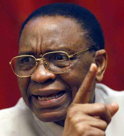 El presidente de Níger, Mamadou Tandja