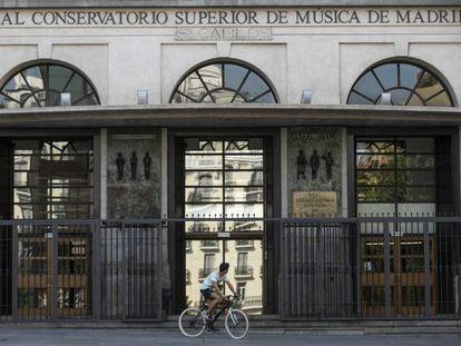 Real Conservatorio de Música de Madrid, en calle Santa Isabel.