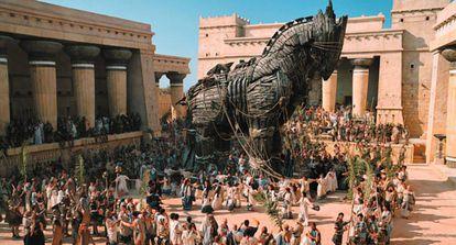 Fotograma de la película Troya, dirigida por Wolfgang Petersen en 2004.