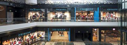 Una tienda de Primark en Santiago de Compostela