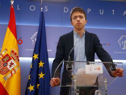 El candidato a la Comunidad de Madrid aún confía en que su plataforma, Más Madrid, y Podemos confluyan en las elecciones