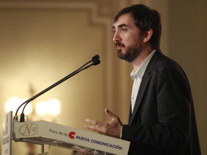 Ignacio Escolar, en 2014 en Madrid.