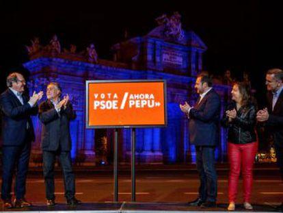 PSOE, PP, Ciudadanos, Unidas Podemos. Madrid en Pie y Más Madrid interrumpen la campaña, mientras Vox anuncia que continúa con su agenda prevista
