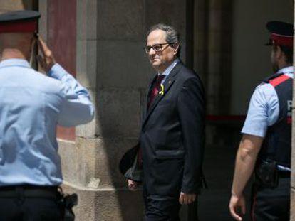 El  president  pide un dictamen jurídico para desencallar la conformación del 'Govern