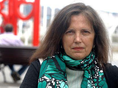 Claudia Piñeiro, el jueves en la Semana Negra de Gijón.