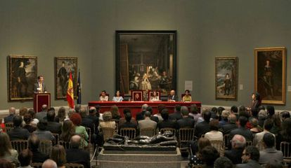 Entrega del Premio Velázquez a la escultora Doris Salcedo, en 2010.