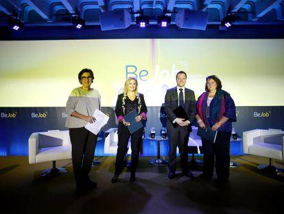 Evento de presentacion de BeJob, plataforma de formación para empleo de Santillana