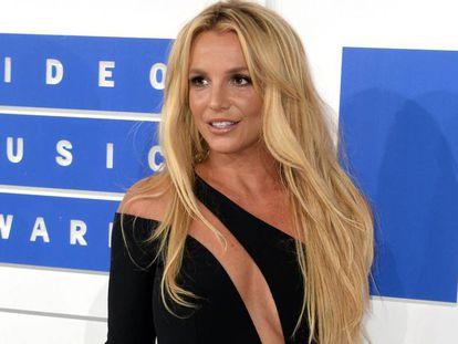 Britney Spears, en una entrega de premios en 2016.