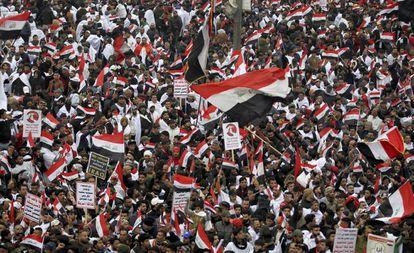 Este viernes miles de personas se manifiestan en Bagdad para exigir que las tropas estadounidenses abandonen el país.