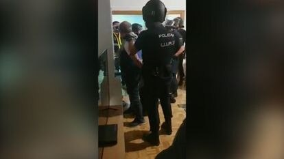 'El Pollo' Carvajal, en una imagen de su detención difundida por la policía española.