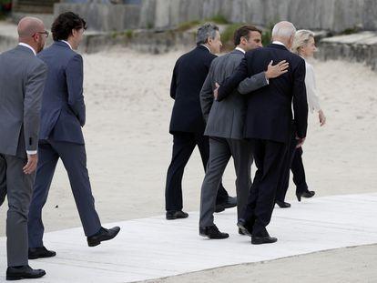 Reunión del G-7, celebrada en Cornualles (Inglaterra) en junio de este año.