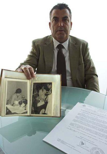 Antonio Barroso descubrió hace tres años que sus padres le habían comprado en Zaragoza.