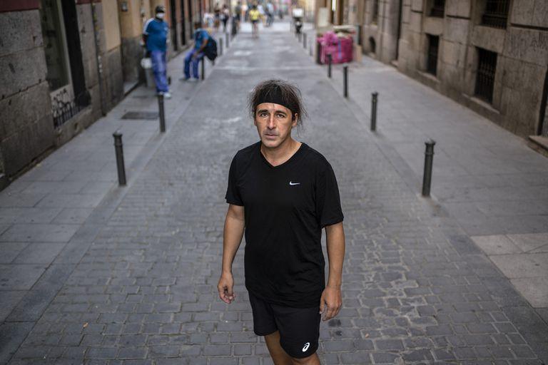 Joaquín Carmona, a finales de julio en Madrid.