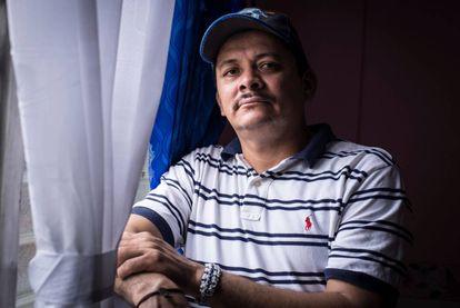El líder campesino nicaragüense, Medardo Mairena, en Managua.