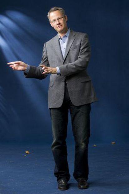 El ensayista norteamericano Nicholas Carr, en 2010.