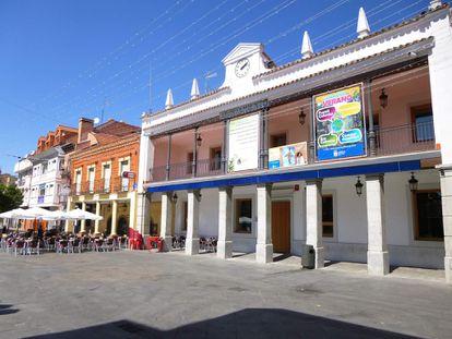 Calle de La Plaza, en Fuenlabrada, uno de los lugares seleccionado para que puedan actuar los artistas.
