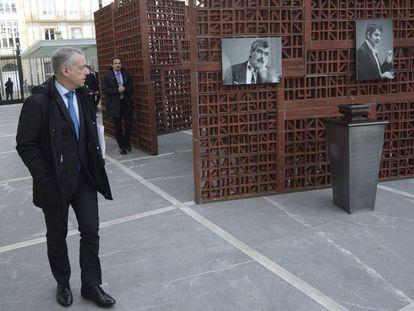 El lehendakari, Íñigo Urkullu en el Parlamento vasco.