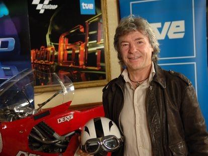 El fallecido campeón de motociclismo Ángel Nieto.