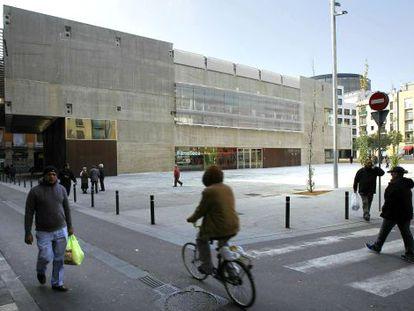 La Filmoteca de Catalunya, en su nueva sede del Raval.