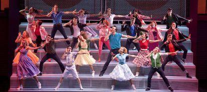 Una escena del musical 'Grease'.