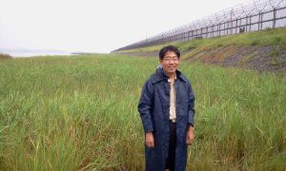 Kim Seung-ho, director del Instituto de Ecología de la DMZ