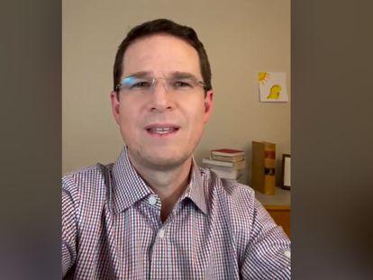 Fragmento del video de Ricardo Anaya difundido el 25 de agosto de 2021.
