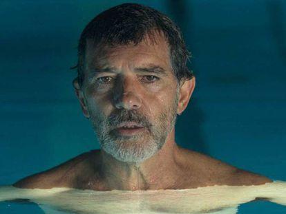 Antonio Banderas interpreta a Salvador Mallo en la película de Pedro Almodóvar 'Dolor y gloria'. En vídeo, el discurso del actor.