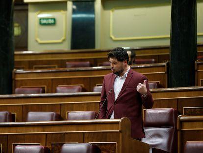 El diputado de ERC, Gabriel Rufián, en una imagen de archivo