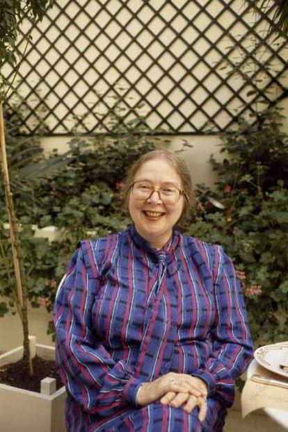 Barbara Wheaton retratada en París en el año 2000