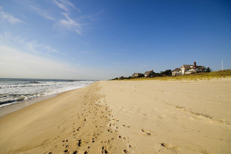 Una de las playas de East Hampton, en el Estado de Nueva York.